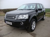 2013 LAND ROVER FREELANDER 2 2.2 TD4 GS 5d 150 BHP £12995.00