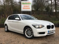 USED 2014 64 BMW 1 SERIES 1.6 116D EFFICIENTDYNAMICS BUSINESS 5dr Sat Nav, Leather, £0 Tax!