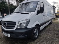 USED 2017 17 MERCEDES-BENZ SPRINTER 2.1 314CDI 1d 140 BHP EURO 6 VAN READY FOR WORK