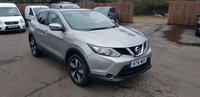 USED 2016 16 NISSAN QASHQAI 1.6 DCi N-CONNECTA 5d 128 BHP WITH NISSAN HISTORY AND WARRANTY NO DEPOSIT PCP/ECP/HP FINANCE ARRANGED, APPLY HERE NOW