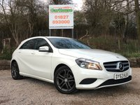 USED 2013 63 MERCEDES-BENZ A CLASS 1.5 A180 CDI BLUEEFFICIENCY SPORT 5dr Half Leather, PDC, £20 Tax