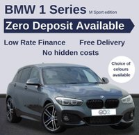 USED 2018 18 BMW 1 SERIES 1.5 116D M SPORT SHADOW EDITION 5d AUTO 114 BHP
