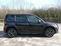 2015 SKODA YETI 2.0 BLACK EDITION TDI CR 5d 138 BHP £12495.00