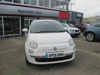 USED 2015 15 FIAT 500 1.2 POP STAR 3d 69 BHP