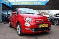 2015 FIAT 500 1.2 LOUNGE 3dr 69 BHP £6995.00