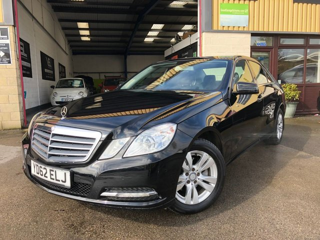 2012 62 MERCEDES-BENZ E-CLASS 2.1 E220 CDI BLUEEFFICIENCY S/S SE 4d AUTO 170 BHP