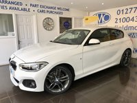 2016 BMW 1 SERIES 1.5 116D M SPORT 3d AUTO 114 BHP £14000.00