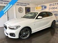 USED 2016 16 BMW 1 SERIES 1.5 116D M SPORT 3d AUTO 114 BHP