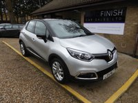 USED 2014 14 RENAULT CAPTUR 1.5 DYNAMIQUE MEDIANAV DCI 5d AUTO 90 BHP * 1 PRIVATE KEEPER * FULL RENAULT SERVICE HISTORY * £20 ROAD TAX *