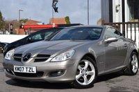 2007 MERCEDES-BENZ SLK 1.8 SLK200 KOMPRESSOR 2d AUTO 161 BHP £6995.00