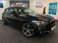 2014 BMW 1 SERIES 2.0 116D SPORT 3d 114 BHP £7799.00