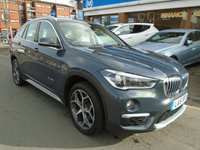 USED 2016 16 BMW X1 2.0 XDRIVE25D XLINE 5d AUTO 228 BHP 1 OWNER, SAT NAV, HEATED SEATS