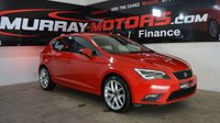 2016 SEAT LEON 1.6 TDI SE TECHNOLOGY 5DOOR 110 BHP £8995.00