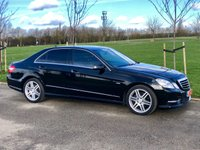USED 2012 W MERCEDES-BENZ E CLASS 2.1 E250 CDI BLUEEFFICIENCY AMG SPORT AUTO 204 BHP 4DR SALOON +XENONS+F/S/H+LEATHER