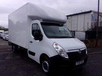 USED 2016 16 VAUXHALL MOVANO 2.3 F3500 CDTI L3 Luton With Tail Lift 125 BHP