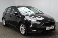 USED 2015 65 FORD FOCUS 1.5 ZETEC TDCI 5DR 118 BHP 1 OWNER FREE ROAD TAX SERVICE HISTORY + FREE 12 MONTHS ROAD TAX + SATELLITE NAVIGATION + PARKING SENSOR + BLUETOOTH + MULTI FUNCTION WHEEL + AIR CONDITIONING + DAB RADIO + 16 INCH ALLOY WHEELS
