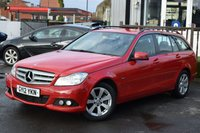 2012 MERCEDES-BENZ C-CLASS 2.1 C200 CDI BLUEEFFICIENCY SE 5d 135 BHP £6995.00