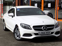 USED 2016 66 MERCEDES-BENZ C CLASS COUPE 2.0 C200 Sport 2dr *Sat Nav + Leather + Only 8k*