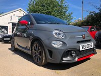 USED 2016 66 ABARTH 595 1.4 T-Jet Hatchback 3dr Petrol Manual (139 g/km, 143 bhp) 0% FINANCE AVAILABLE