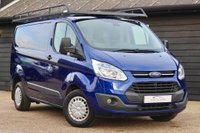 USED 2014 64 FORD TRANSIT CUSTOM 270 TREND LR P/V RHINO ROOF RACK - UK DELIVERY
