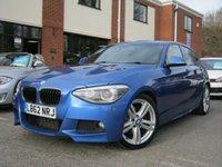 USED 2013 62 BMW 1 SERIES 2.0 125D M SPORT 5d AUTO 215 BHP