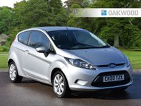 2009 FORD FIESTA 1.2 STYLE PLUS 3d 81 BHP £3995.00