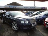 2007 BENTLEY CONTINENTAL 6.0 GTC 2d AUTO 550 BHP £44999.00