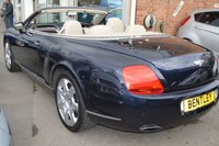 USED 2007 57 BENTLEY CONTINENTAL 6.0 GTC 2d AUTO 550 BHP