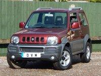 2007 SUZUKI JIMNY 1.3 JLX PLUS 3d 83 BHP £5370.00