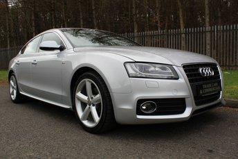2012 AUDI A5 2.0 SPORTBACK TDI S LINE 5d 168 BHP £10750.00