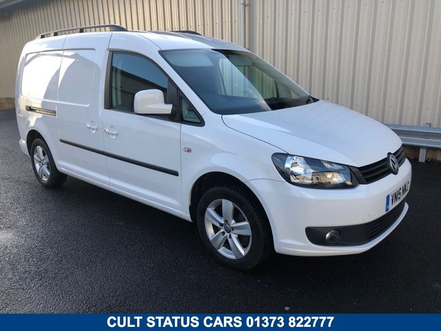 2015 15 VOLKSWAGEN CADDY MAXI C20 2.0TDI HIGHLINE 140 BHP MANUAL