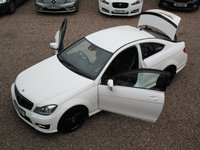 USED 2012 12 MERCEDES-BENZ C CLASS 2.1 C250 CDI BLUEEFFICIENCY AMG SPORT 2d AUTO 204 BHP SAT NAV, PARTIAL LEATHER INTERIOR, BLACK AMG STYLING, ALLOY WHEELS, PARKING SENSORS, REAR SPOILER,, FULL SERVICE HISTORY, HPI CLEAR, 2 REMOTE KEYS