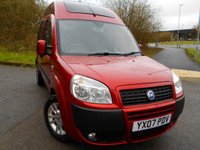 USED 2007 07 FIAT DOBLO 1.4 8V DYNAMIC H/R 5d 77 BHP **HIGH TOP**WHEELCHAIR RAMP AND WINCH**LOW MILEAGE**