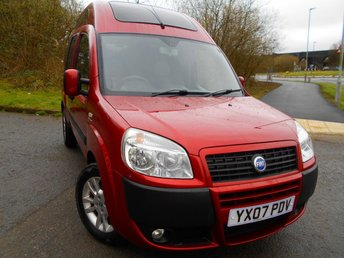 2007 FIAT DOBLO 1.4 8V DYNAMIC H/R 5d 77 BHP **HIGH TOP**WHEELCHAIR RAMP AND WINCH**LOW MILEAGE** £3995.00