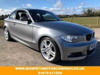 2008 BMW 1 SERIES 3.0 125I M SPORT 2d 215 BHP £5995.00