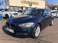 USED 2013 62 BMW 1 SERIES 1.6 116D EFFICIENTDYNAMICS 5d 114 BHP