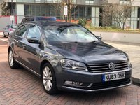2013 VOLKSWAGEN PASSAT 2.0 HIGHLINE TDI BLUEMOTION TECHNOLOGY DSG 4d AUTO 139 BHP £SOLD