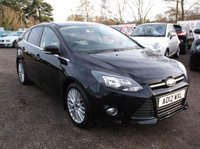 USED 2012 12 FORD FOCUS 1.0 ZETEC 5d 99 BHP ***Low road tax-  Band B £20 *** FSH - DAB - BLUETOOTH - VGC*** Very economical ***