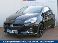 USED 2015 15 VAUXHALL CORSA 1.4 LIMITED EDITION 3d 89 BHP FULL SERVICE HISTORY