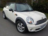 2009 MINI HATCH COOPER 1.6 COOPER 3d 118 BHP £SOLD