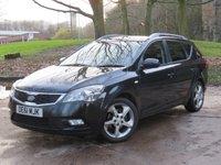 USED 2011 61 KIA CEED 1.6 CRDI 3 SW 5d AUTO 114 BHP