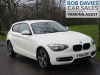 USED 2014 64 BMW 1 SERIES 2.0 116D SPORT 3d 114 BHP