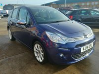 2014 CITROEN C3 1.2 SELECTION 5d 80 BHP £5750.00