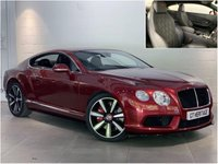 2014 BENTLEY CONTINENTAL 4.0 GT V8 S [MULLINER DRIVING SPEC] £64497.00