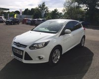 USED 2014 14 FORD FOCUS 1.0 TITANIUM NAVIGATOR ECOBOOST 125 BHP THIS VEHICLE IS AT SITE 1 - TO VIEW CALL US ON 01903 892224