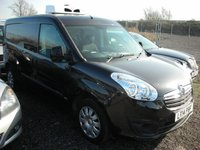 USED 2014 14 VAUXHALL COMBO 1.2 2300 L2H1 CDTI SPORTIVE 1d 90 BHP Low mileage - 1 Previous owner