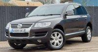 2009 VOLKSWAGEN TOUAREG 3.0 V6 SE TDI 5d AUTO 221 BHP £7800.00