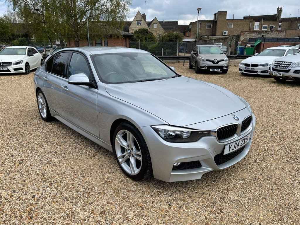 USED 2014 14 BMW 3 SERIES 2.0 320d M Sport (s/s) 4dr Sat Nav, DAB, Heated Leather