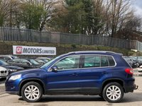 USED 2010 10 VOLKSWAGEN TIGUAN 2.0 TDI SE Tiptronic 4MOTION 5dr 4Motion/Sensors/Leather/AUX