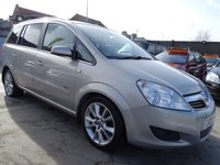 2008 VAUXHALL ZAFIRA 1.9 DESIGN CDTI 150 6 SPEED CLEAN £1795.00